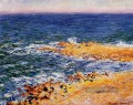 Das Meer in Antibes Claude Monet