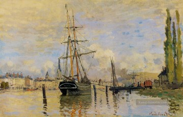 Claude Monet Werke - The Seine at Rouen Claude Monet