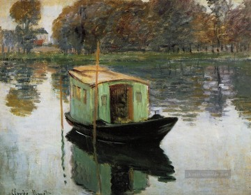 claude - Das Studio Boot 1874 Claude Monet