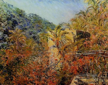 Claude Monet Werke - The Valley of Sasso Sunshine Claude Monet