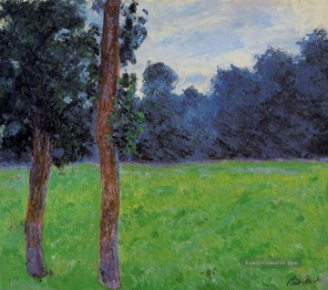 Claude Monet Gemälde - Two Trees in a Meadow Claude Monet