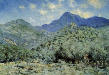 una Ölgemälde - Valle Bouna in der Nähe von Bordighera Claude Monet
