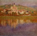Vetheuil Rosa Effect Claude Monet