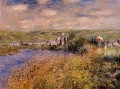 Vetheuil Seen from Ile Saint Martin Claude Monet