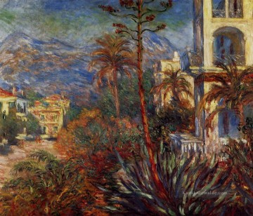 Villas in Bordighera Claude Monet Ölgemälde