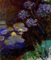 Seerose and Agapanthus Claude Monet