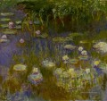 Yellow and Lilac Seerose Claude Monet