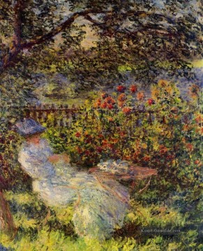 Alice Hoschede in the Garden Claude Monet