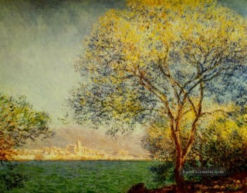 Morgen Künstler - Antibes in den Morgen Claude Monet