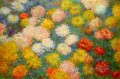 Chrysanthemums Claude Monet