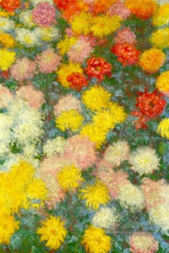 Chrysanthemen III Claude Monet Ölgemälde