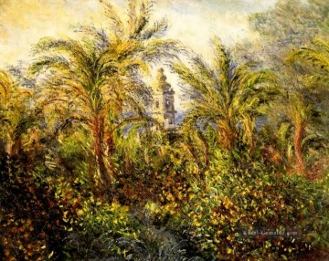 Garten Galerie - Garten in Bordighera Morgen Effect Claude Monet