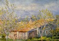 Gardener s Hause in Antibes Claude Monet