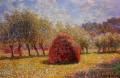 Haystacks at Giverny 1895 Claude Monet