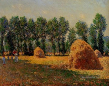 Claude Monet Gemälde - Haystacks at Giverny Claude Monet