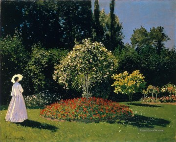 Claude Monet Werke - JeanneMarguerite Lecadre in the Garden Claude Monet