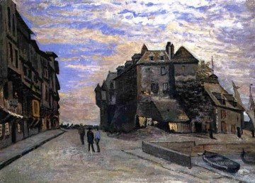 Claude Monet Werke - Le Lieutanance at Honfleur Claude Monet