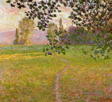 Morgen Landschaft Giverny Claude Monet Ölgemälde
