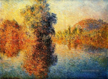 Morning on the Seine Claude Monet