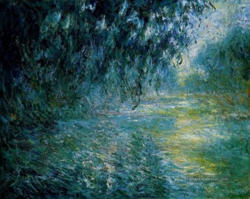 Morning on the Seine in the Rain Claude Monet