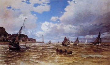 Claude Monet Werke - Mouth of the Seine at Honfleur Claude Monet