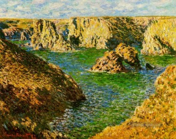 Port Donnant Belle Ile Claude Monet Ölgemälde