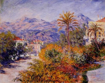 Strada Romada in Bordighera Claude Monet Ölgemälde