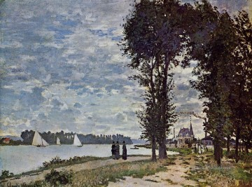 Claude Monet Werke - The Banks of the Seine at Argenteuil Claude Monet