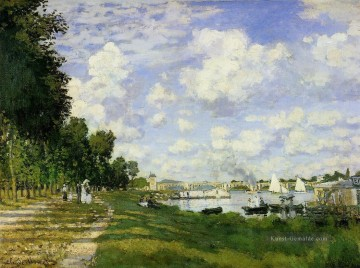 Claude Monet Werke - The Basin at Argenteuil Claude Monet