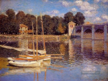 Claude Monet Werke - The Bridge at Argenteuil Claude Monet