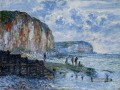 The Cliffs of Les PetitesDalles Claude Monet