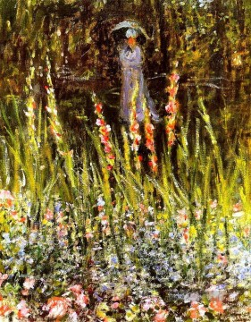 Claude Monet Gemälde - The Garden Gladioli Claude Monet
