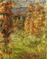 The House among the Roses Claude Monet