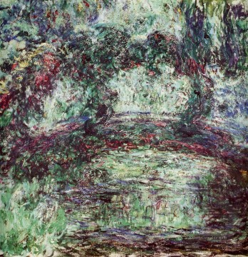 Claude Monet Werke - The Japanese Bridge Claude Monet