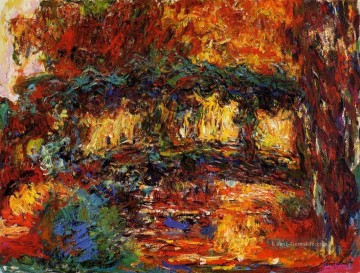 The Japanese Bridge II Claude Monet