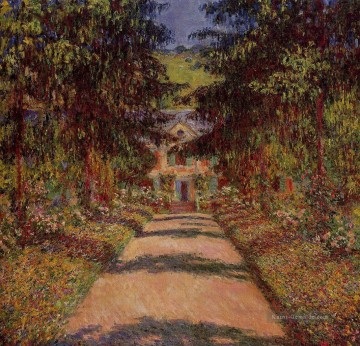der Hauptweg in Giverny Claude Monet Ölgemälde