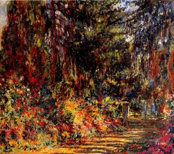 der Weg in Giverny Claude Monet Ölgemälde
