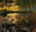 The Pond at Montgeron II Claude Monet