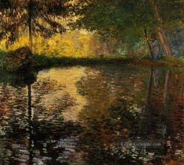 Claude Monet Gemälde - The Pond at Montgeron II Claude Monet
