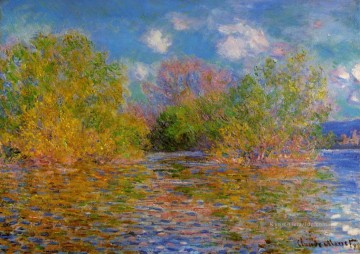 Giverny Galerie - Die Seine bei Giverny Claude Monet