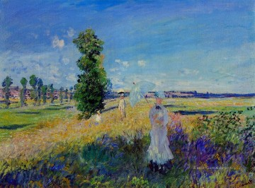 Claude Monet Werke - The Walk Argenteuil Claude Monet