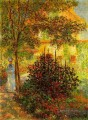 Camille Monet in the Garden at the House in Argenteuil Claude Monet