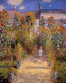 Monet s Garden at Vetheuil II Claude Monet