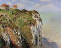 The Cliff at Dieppe Claude Monet