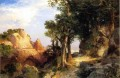 Auf dem Berry Trail Grand Canyon von Arizona Rocky Berge Schule Thomas Moran