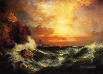 Sunset near Lands End Cornwall England Seestück Thomas Moran