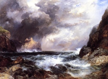 Tantallon Castle North Berwick Scotland Seestück Thomas Moran