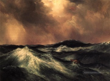 The Angry Sea Seestück School Thomas Moran