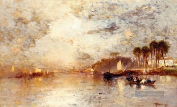 On the St Johns River Florida Seestück Thomas Moran