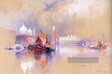 View of Venedig Boot Thomas Moran